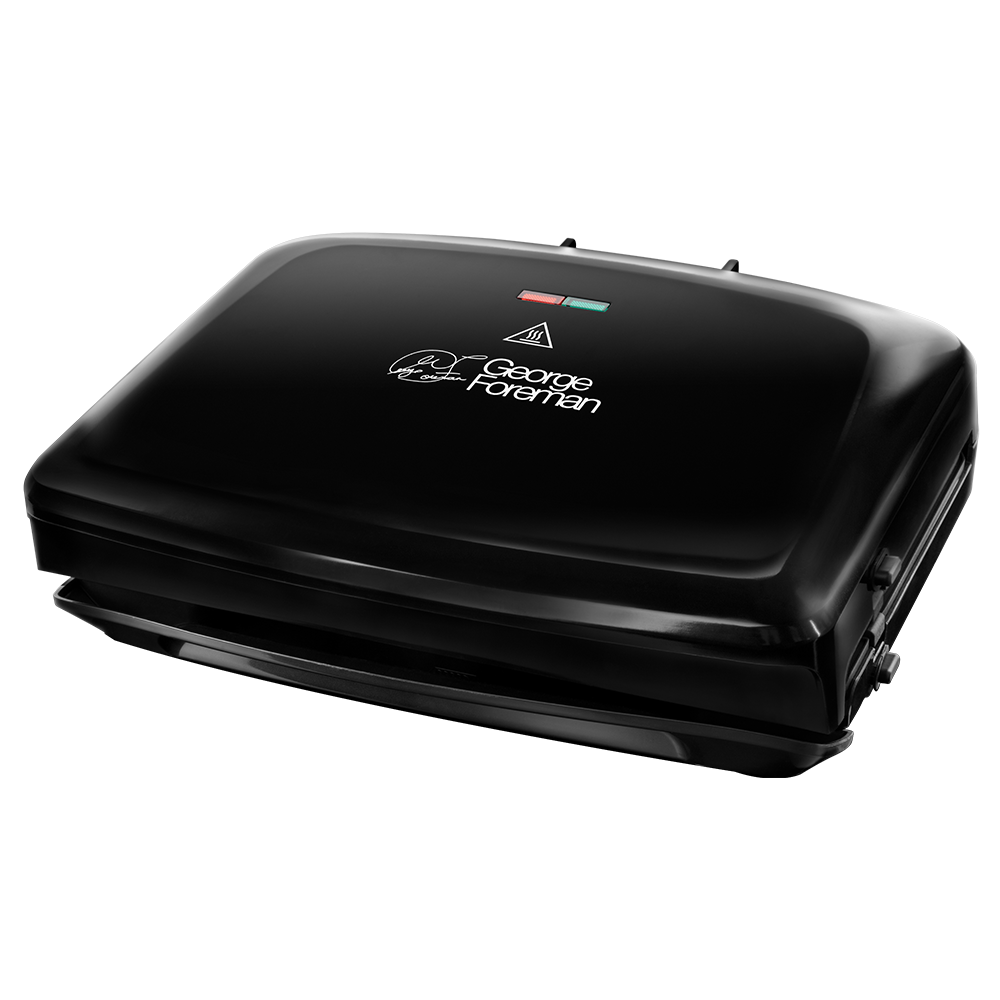 Family 5 Portion Black Grill with Removable Plates 24330 -